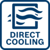 Direct cooling For high overload capability and a long service life.