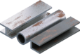 Metal pipes and profiles