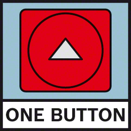 One Button One button for everything – intuitive and easy measuring