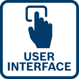 Direct tool feedback and setting adjustments thanks to the integrated user interface and connectivity features.