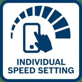 Individual Speed Setting