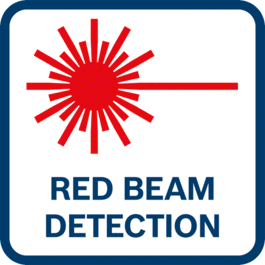 Red beam detection