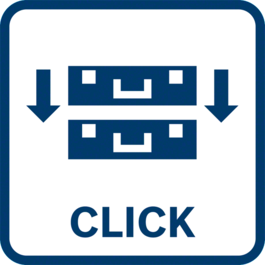 Easy and safe transport Connect and separate multiple BOXXes due to the patented click connection