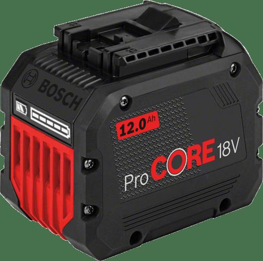 in cardboard box with 1 x 12.0 Ah ProCORE18V Li-ion battery