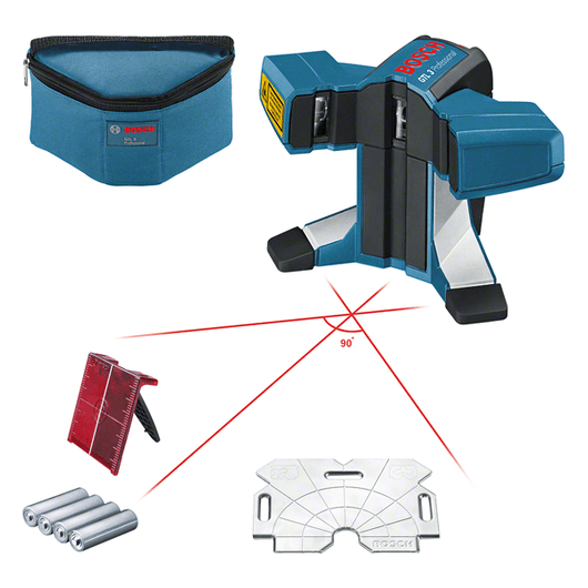 with 4 x battery (AA), accessory set